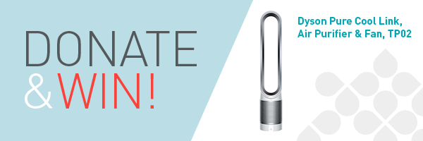 Donate and Win a Dyson Cool Link Air Purifier Fan